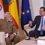 Narendra Modi in Spain
