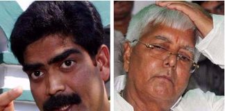 Laloo in trouble over Shahabuddin audio clip