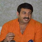 Manoj Tiwari's house stormed, 2 arrested