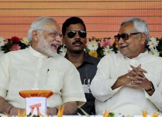 After lunch with Modi, Nitish says nothing political on menu