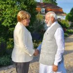 Modi meets Merkel, discussed OBOR, GST and Terrorism