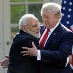 Trump and Modi developed close Chemistry