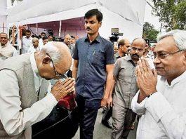 Bihar CM Nitish Kumar backs BJP pick