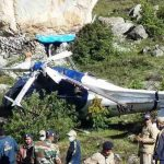 Crew member killed, 2 pilots injured in Helicopter crash in Badrinath.