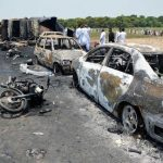 Devastating oil tanker fire kills 140 in Pakistan