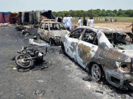 Devastating oil tanker fire kills 140 in Pakistan