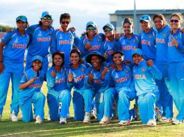 BEATING THE FAVOURITES: India celebrate winning their Women's Cricket World Cup semifinal match against Australia at Derby, Britain. Their win was led by 19-year-old Harmanpreet Kaur's unbeaten knock of 171 which stood out for its brilliance, Reuters/UNI
