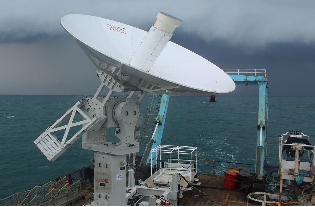 ISRO develops indigenous ship-borne tracking antenna terminal