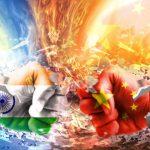 India China standoff Graphic