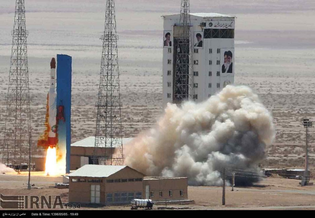 US, Three European Giants Condemn Iran for Rocket Launch
