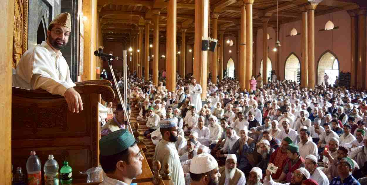 Repression will not resolve Kashmir issue: Mirwaiz