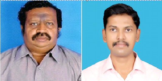 In Picture: Professor Arul Venkatesan (left) and his student VenkateshPerumal (right), who did the study.