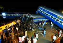 13 coaches of Utkal Express derail in Muzzafarnagar