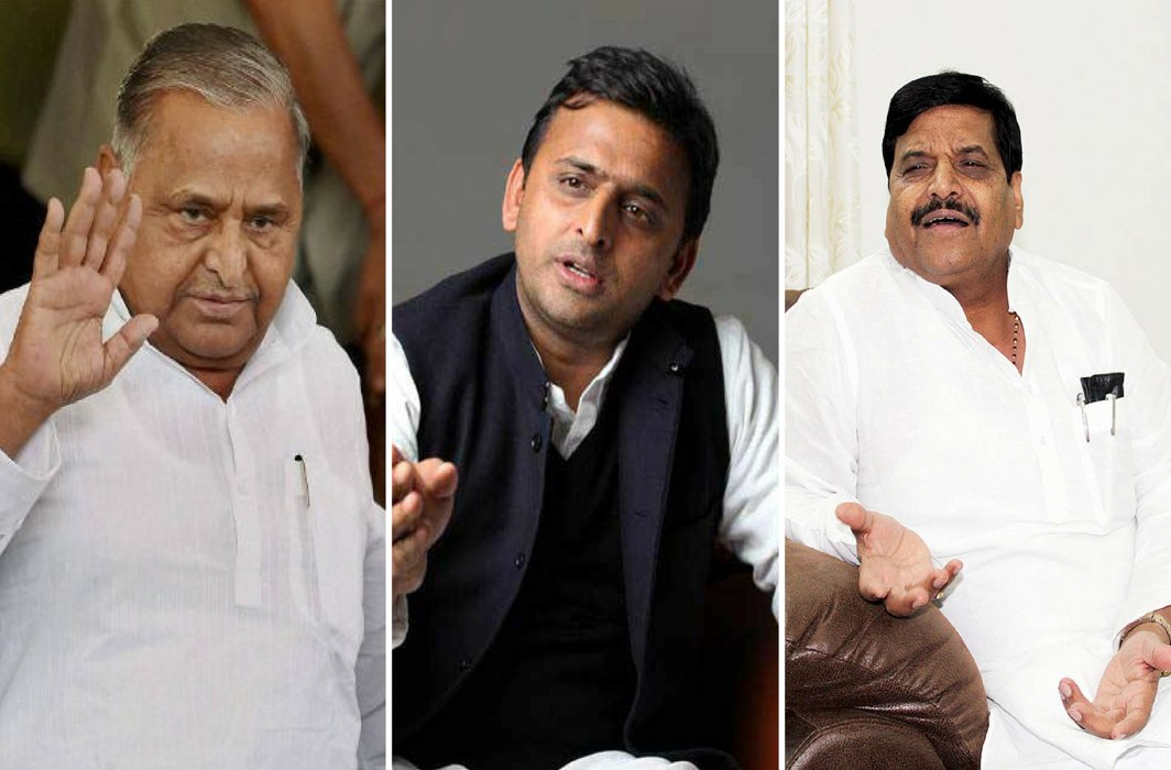 Mulayam skips SP meet; Akhilesh says his blessings are with him