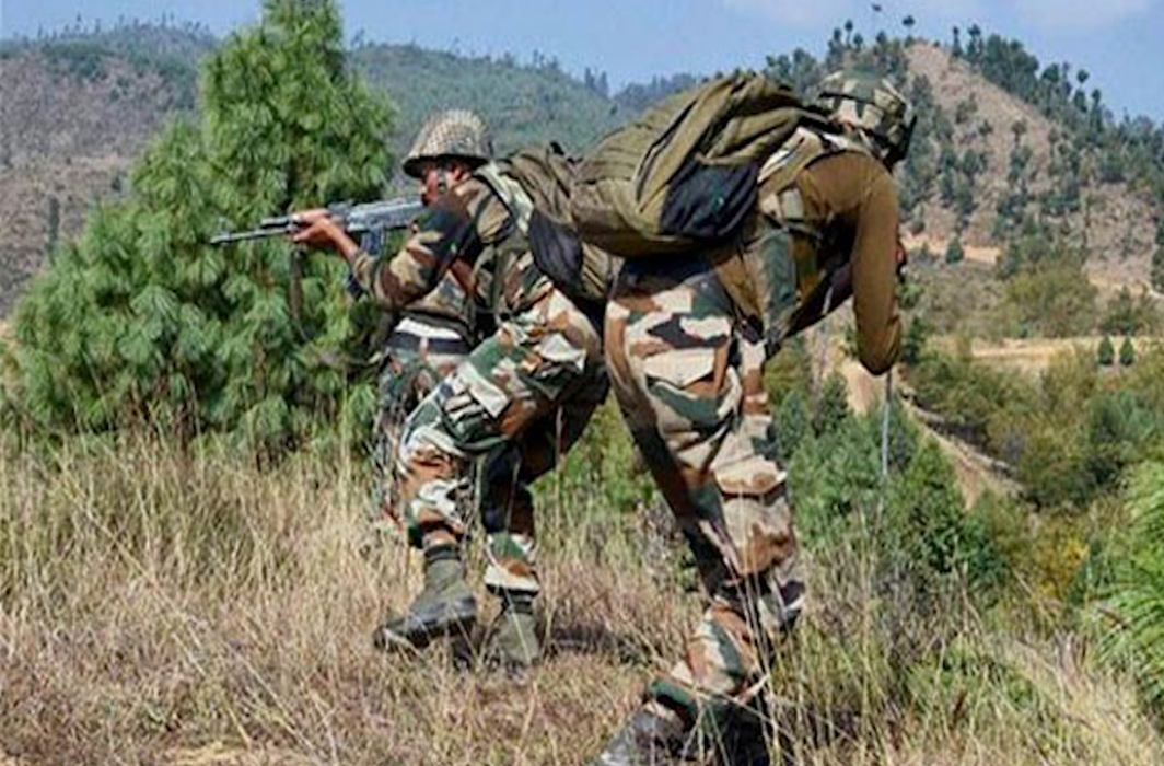 Indian Army forces Pakistan's border action team to retreat