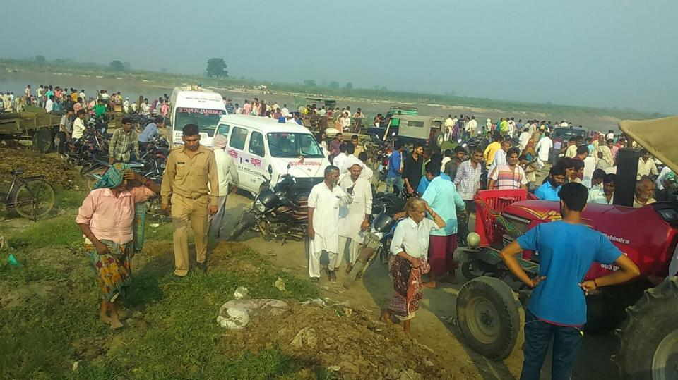 Baghpat, UP: 19 drown after boat carrying 60 capsizes in Yamuna