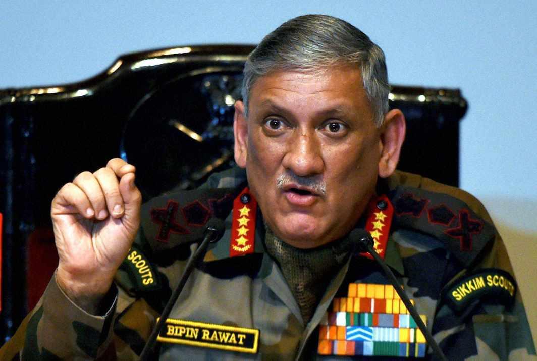 China, Pakistan may attack together, warns Army Chief Rawat