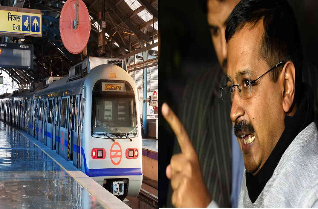 Fares set to rise again, Kejriwal calls it 'anti — Delhi Metro