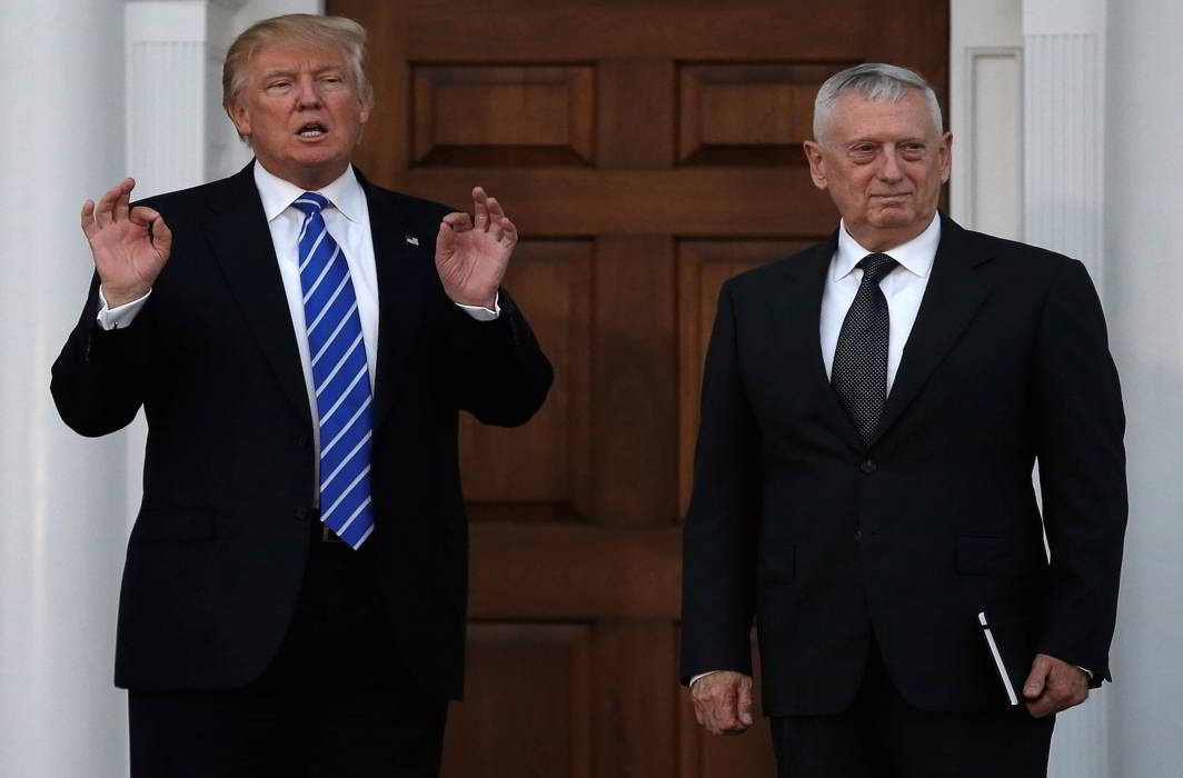US defence secretary Jim Mattis in New Delhi, to discuss Indo-US defence partnership