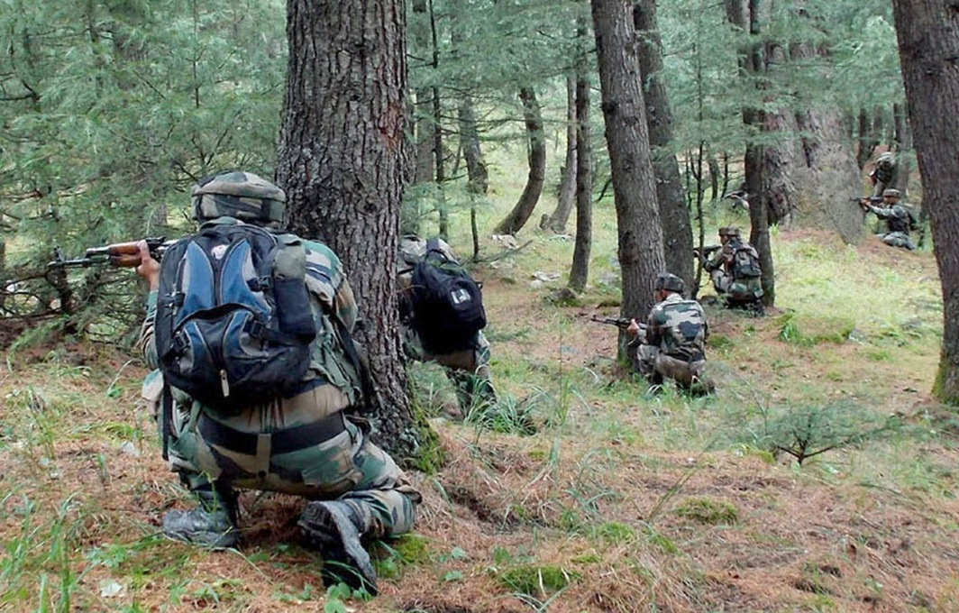 Two Hizb militants killed, one surrenders during Kulgam encounter