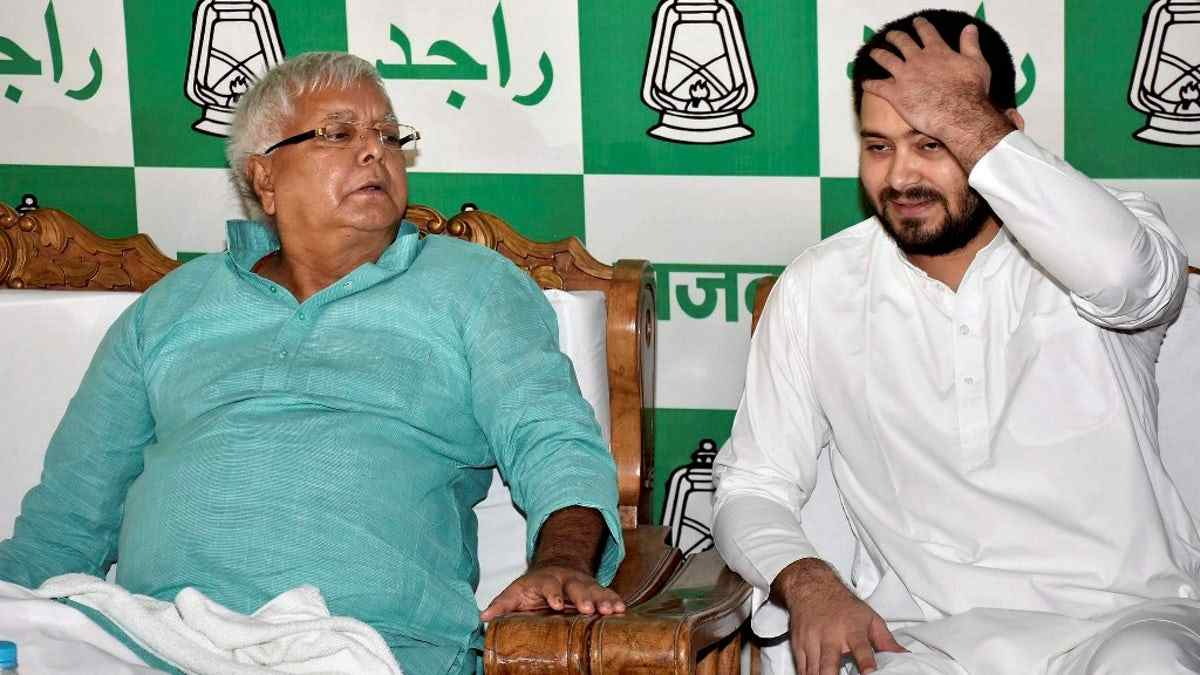 CBI summons Lalu Yadav, son Tejashwi in railways hotel scam