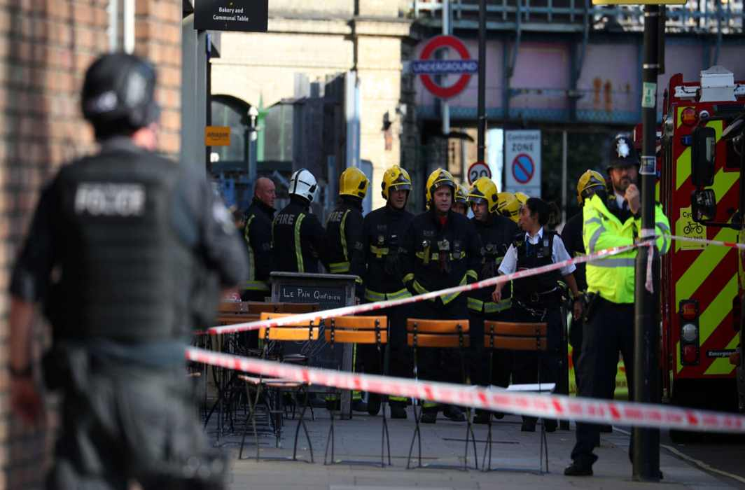 Britain's threat level raised to 'critical' as IS claims responsibility for Tube explosion