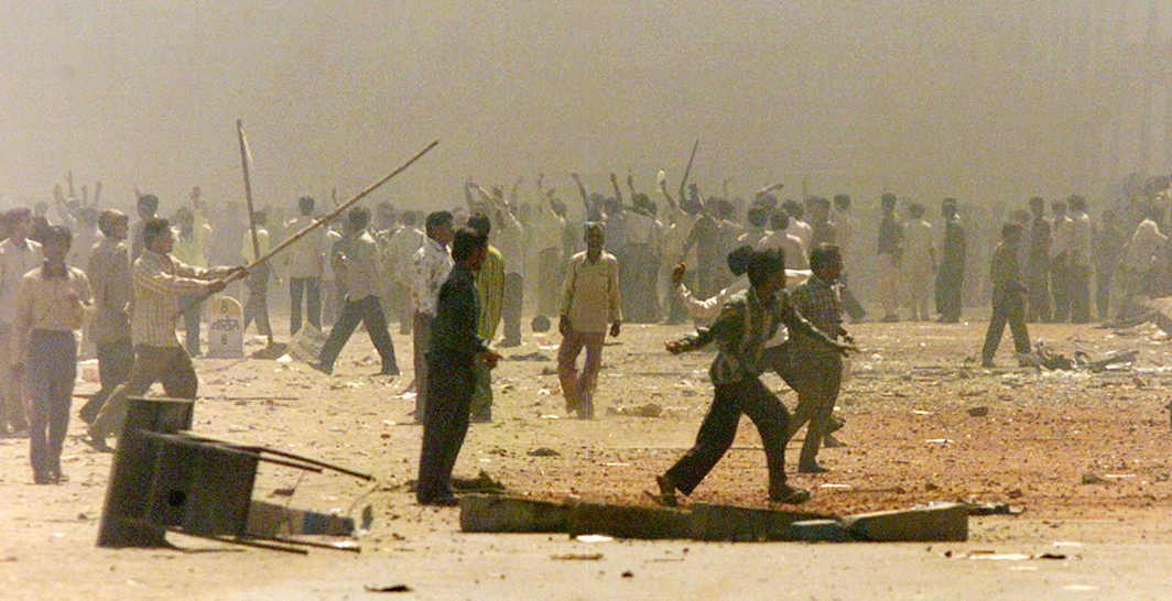 File photo of the 2002 Naroda Patiya riots