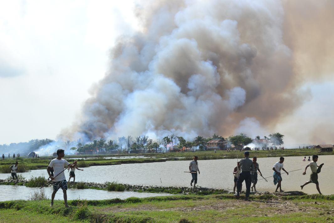 Under attack for violence in Rakhine state, Myanmar Army blames Rohingya Muslims for killing 28 Hindus