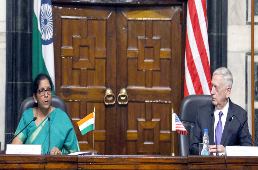 India won't have military role in Afghanistan, says Sitharaman after talks with US counterpart