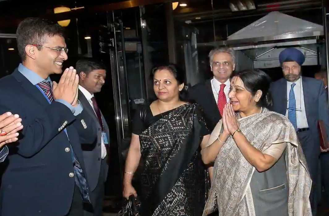 Sushma Swaraj Reminds Pakistan's Support to N. Korea Nuclear Program