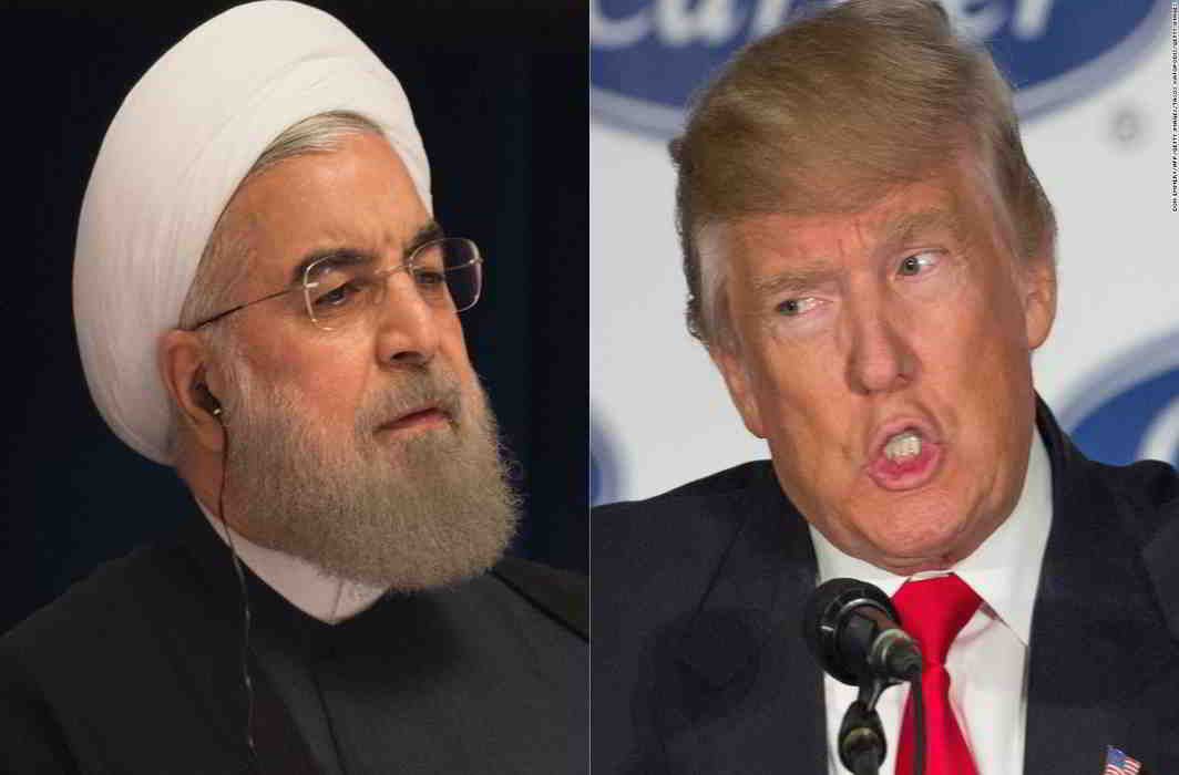 Trump and Rouhani Flex Muscles on Nuclear Deal