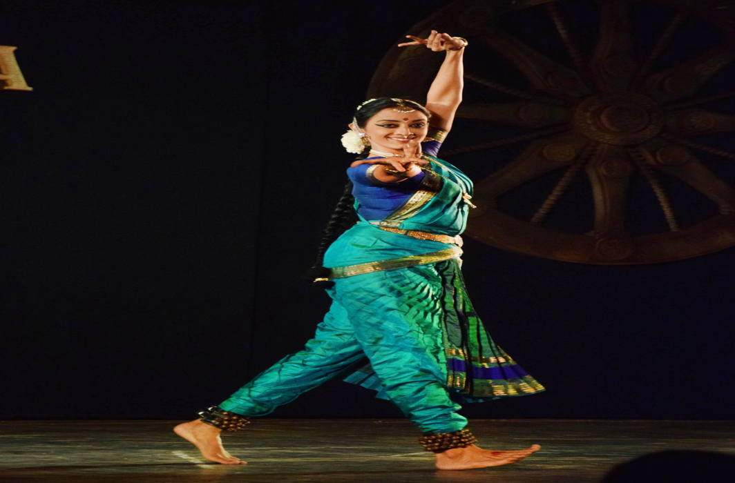 WALK IN BEAUTY: A Bharatnatyam performance by Lekshmi Parthasarathi Aathreya at Soorya Classical Dance Festival, in Thiruvananthapuram, UNI