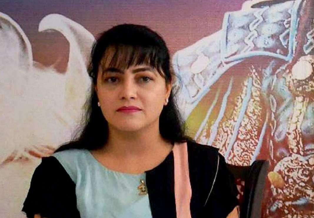 Honeypreet arrested by Haryana Police