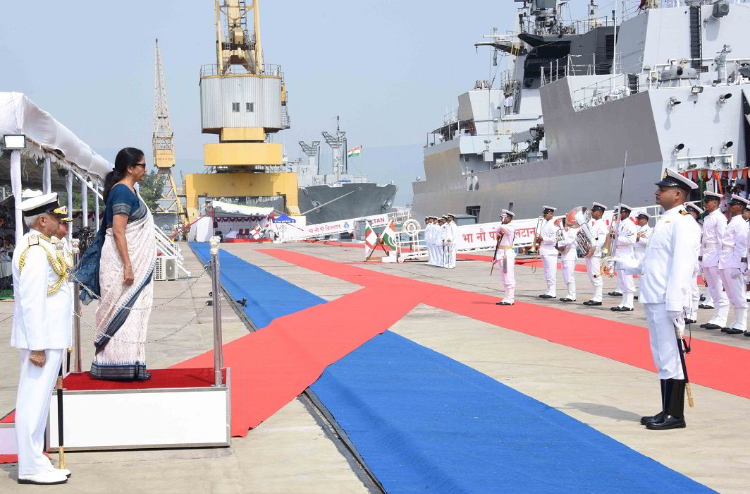 Navy inducts Made in India anti-submarine warship INS Kiltan
