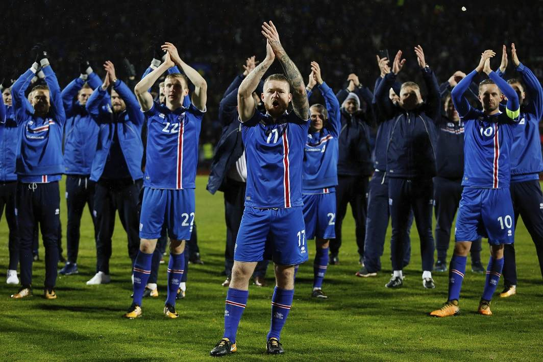 Iceland surprises football fans, becomes smallest nation to qualify for World Cup