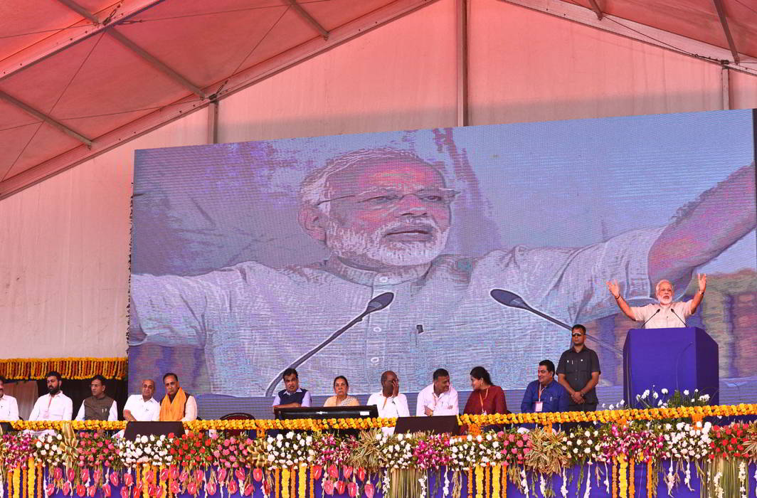With GST rate cuts and project-launch spree, Modi tries to woo poll-bound Gujarat again