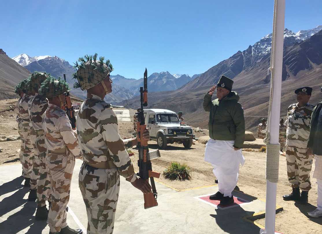 Indians migrating from villages along Indo-China border will put security at risk: Rajnath