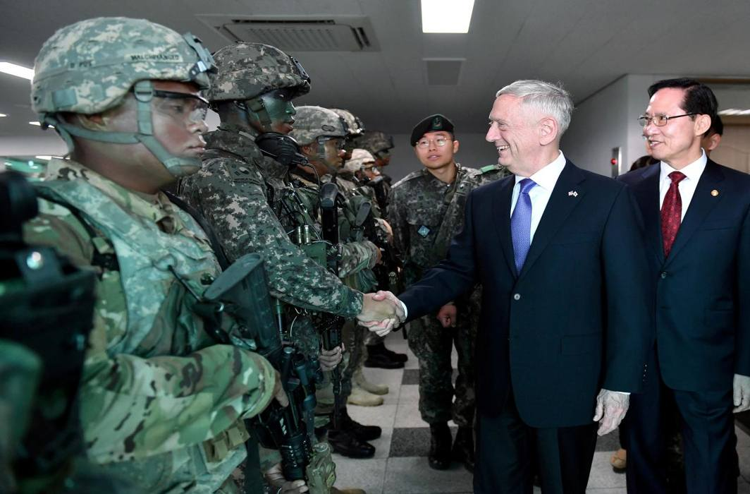 Mattis Favours Diplomacy On North Korea Before Trump Visits The Hotspot