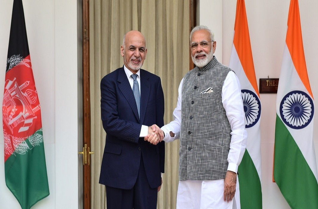 PM Modi and Afghan President Ashraf Ghani determined to end terrorism