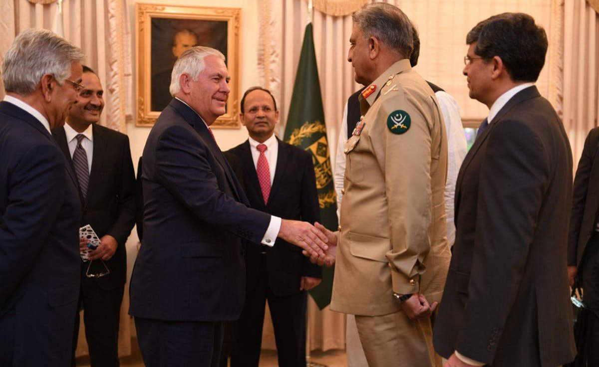 tillerson in pakistan