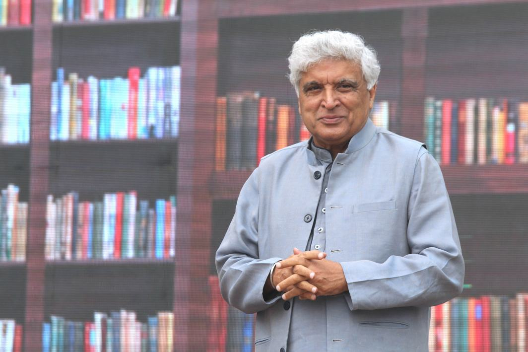MAN OF LETTERS: Javed Akhtar, noted poet, lyricist and writer at Sahitya Aaj Tak, in New Delhi, UNI