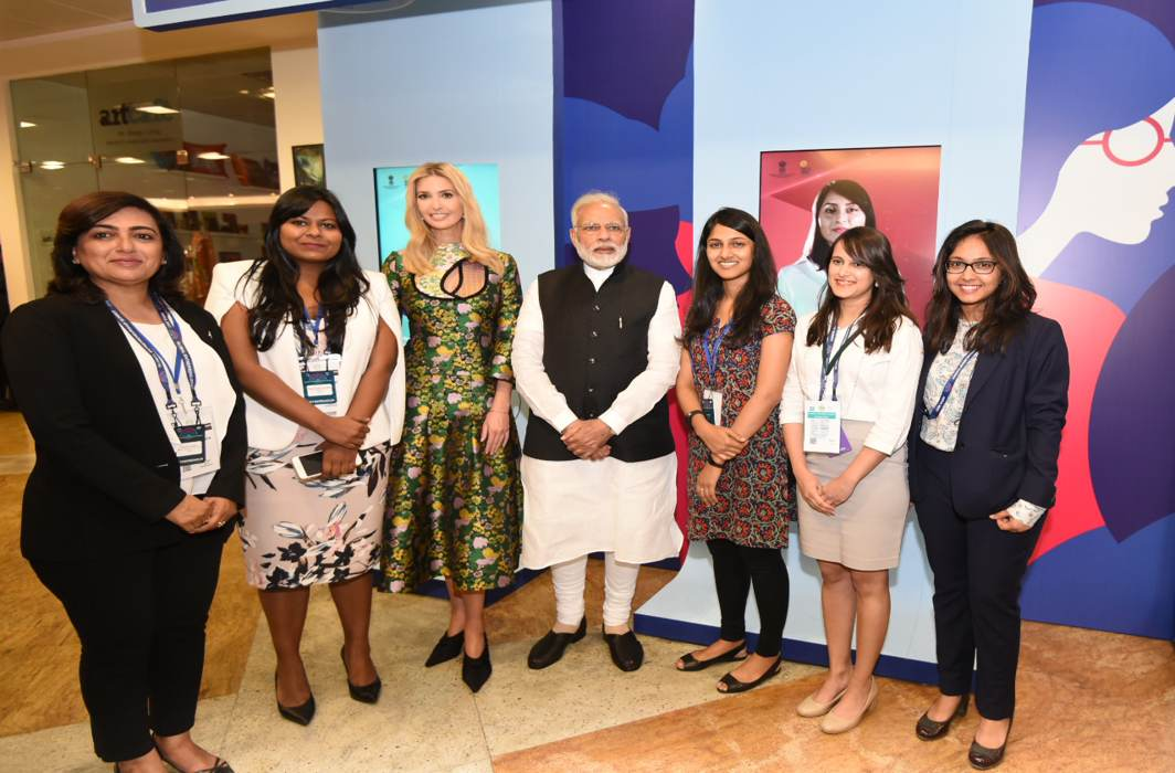 Ivanka Trump unleashes charm offensive at GES 2017 in Hyderabad