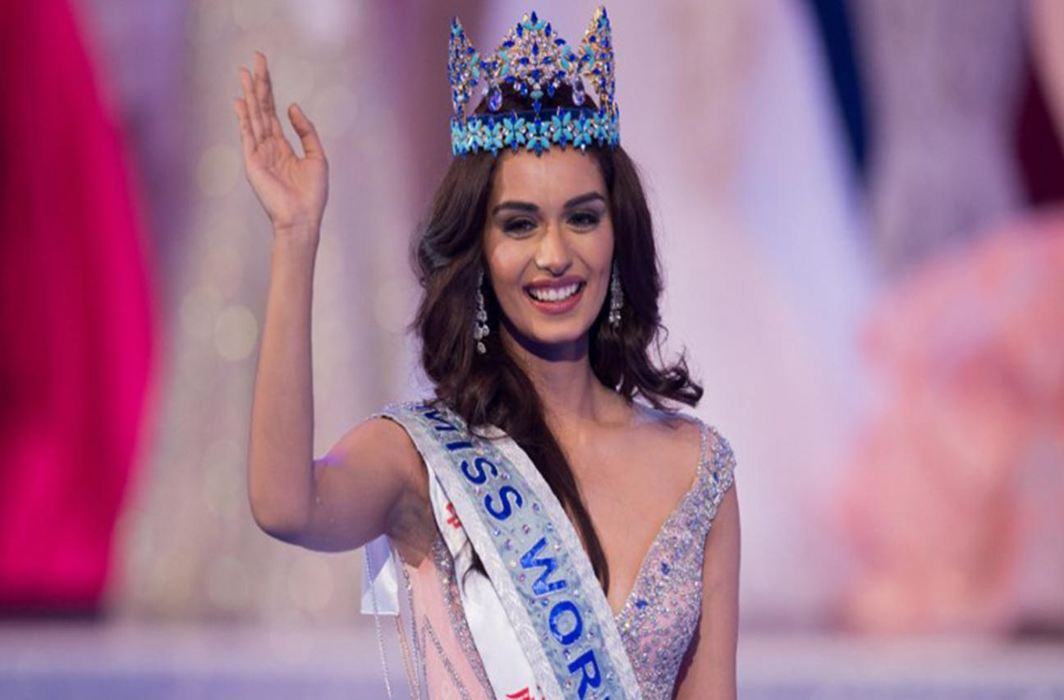 "Miss World Manushi Chhillar not upset over Shashi Tharoor's ""tongue-in-cheek remark"""