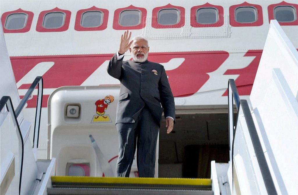 PM Narendra Modi leaves for ASEAN Summit in Philippines