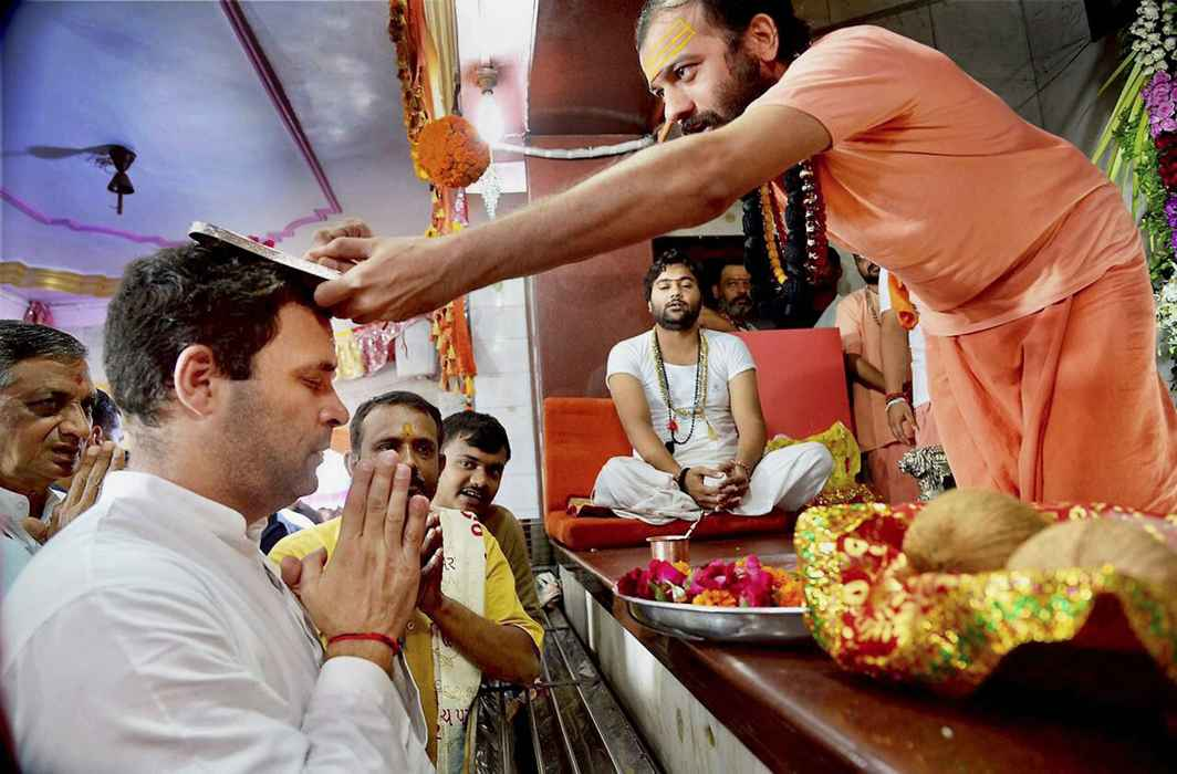 Now, Rahul's name in Somnath Temple's non-Hindu visitor book kicks row