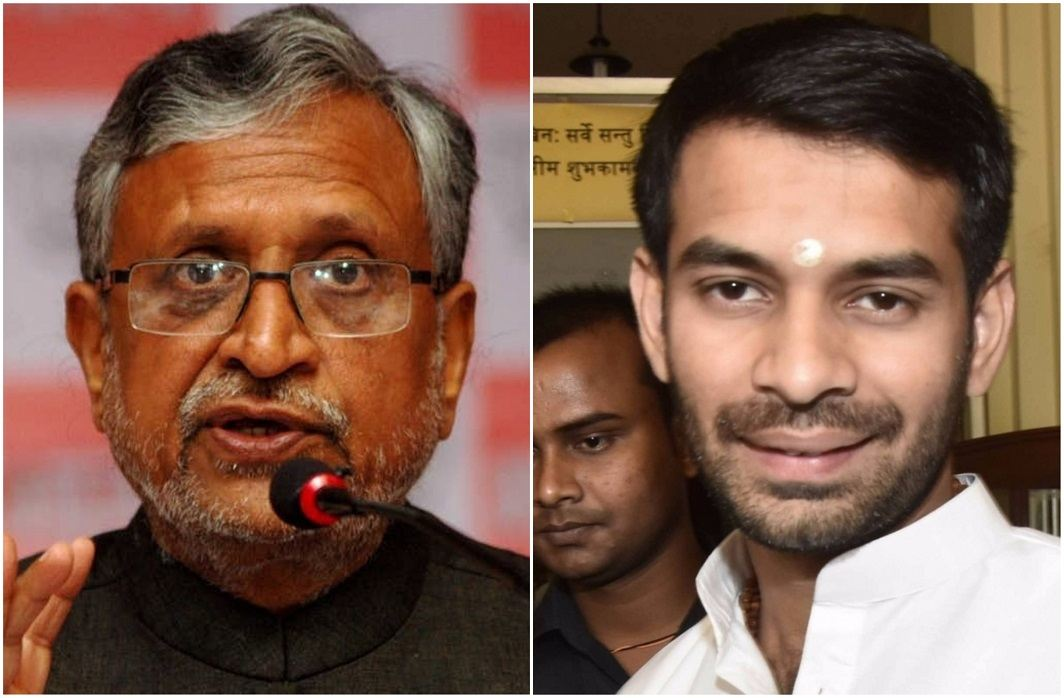 Sushil Modi changes venue after Tej Pratap threatens to sabotage son's wedding