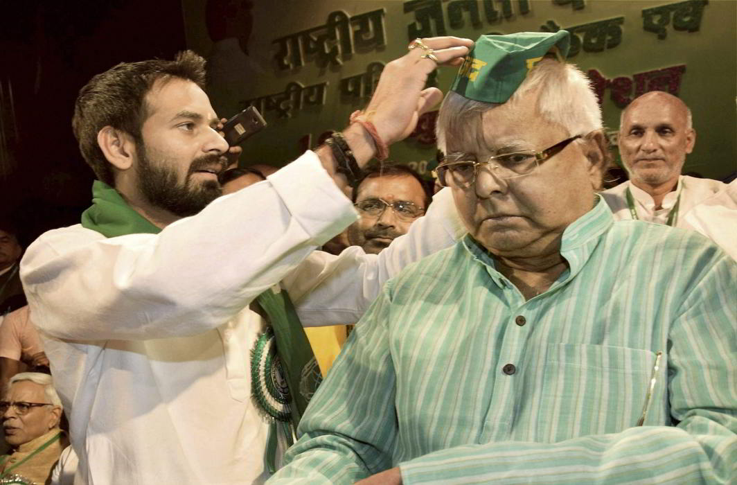 After threatening to beat up Sushil Modi, Lalu's son Tej Pratap wants to 'skin' PM Modi