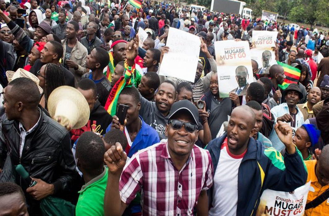 Harare witnesses huge rally against Robert Mugabe