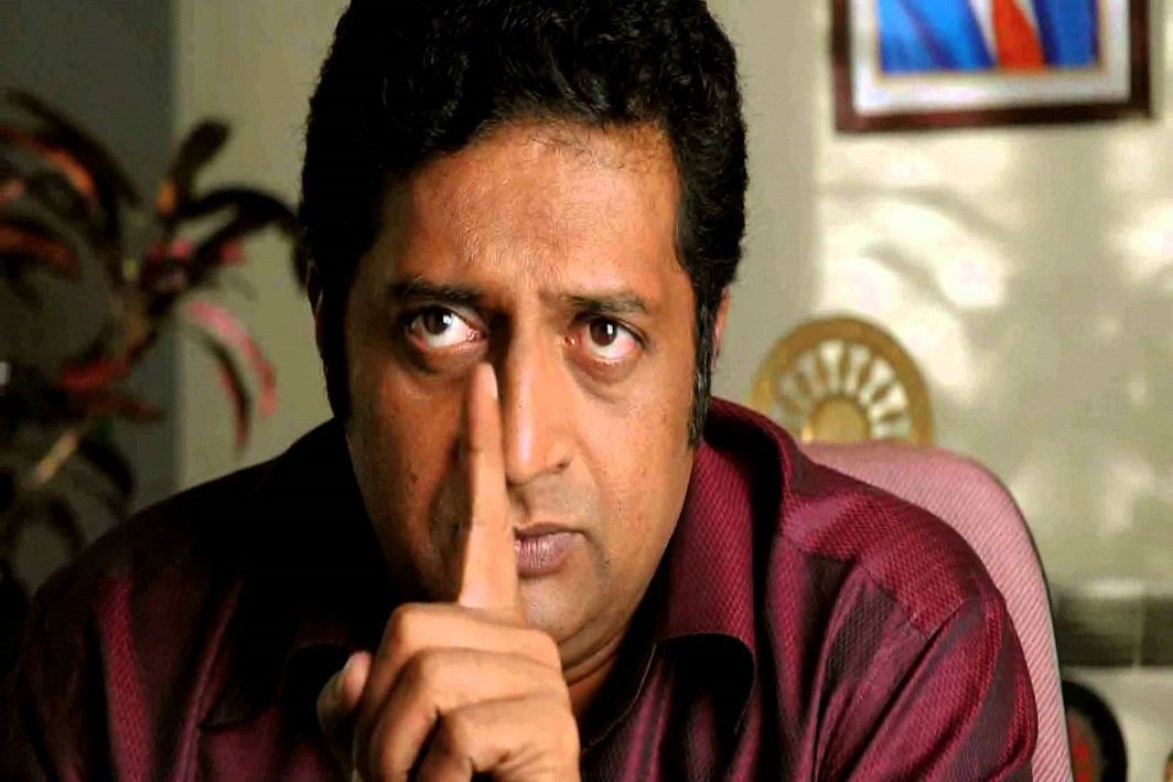 Actors entering politics disastrous: Prakash Raj