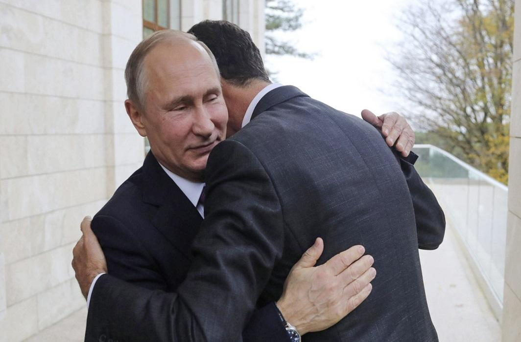 Bashar al-Assad meets Vladimir Putin to discuss post-war process